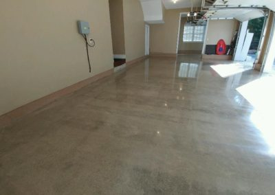 Garage Polished Concrete 1