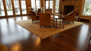 Installed at a country club, these floors look classic and has little variation. You will note, there are no inlays or borders.