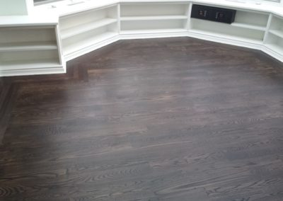 Rubio monocoat - pre color and mahogany top coat (2)