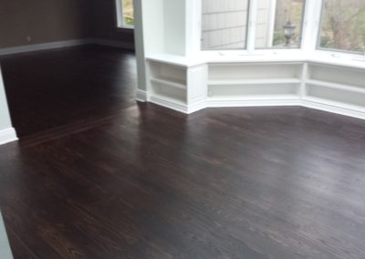 Rubio monocoat - pre color and mahogany top coat (3)