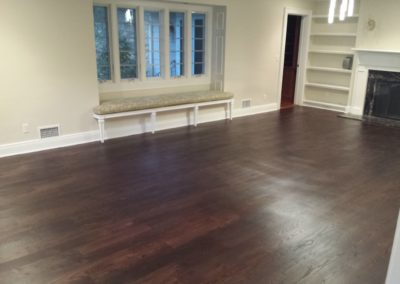 Rubio monocoat - pre color and mahogany top coat (4)